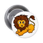 Diseño del león pin