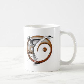 Diseño del logotipo de los motivadores de la aptit tazas de café