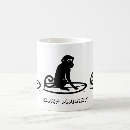 Diseño del logotipo de Munkey de la resaca Taza De Café