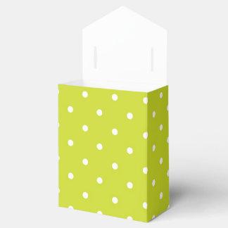 Diseño del lunar de la cal caja para regalo de boda