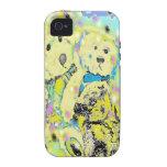 Diseño del lunar de los osos de peluche iPhone 4 carcasa