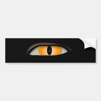Diseño del mal de ojo pegatina para auto