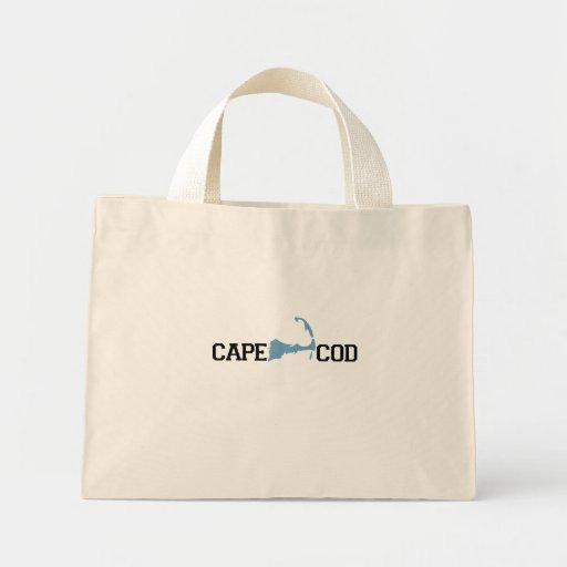 "Diseño del ""mapa"" de Cape Cod Bolsas"