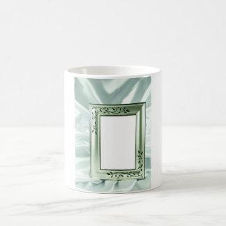 Diseño del marco de la bodas de plata taza