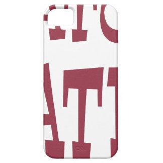 Diseño del marrón del enemigo del cocodrilo iPhone 5 carcasa