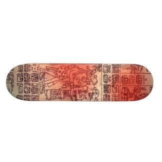 Diseño del maya skate board