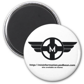 Diseño del mayordomo de Matt de la información fal Imán Redondo 5 Cm