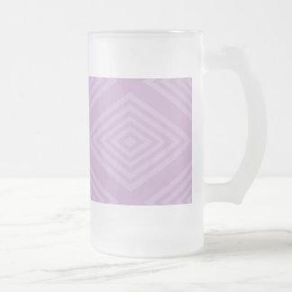 Diseño del modelo de la ilusión abstracta, óptica  taza de café