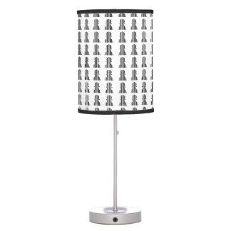 Diseño del modelo del pedazo de ajedrez de la lámpara de escritorio