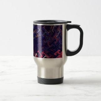Diseño del modelo taza de viaje de acero inoxidable