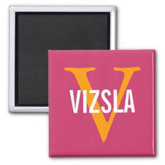 Diseño del monograma de la raza de Vizsla Iman