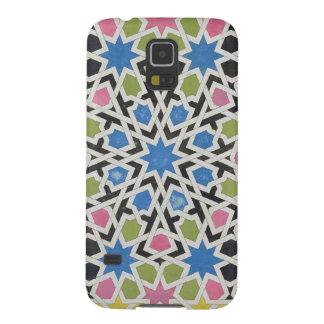 Diseño del mosaico de Alhambra, 'del árabe Fundas De Galaxy S5