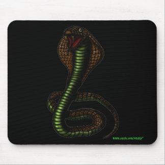 Diseño del mousepad de la cobra