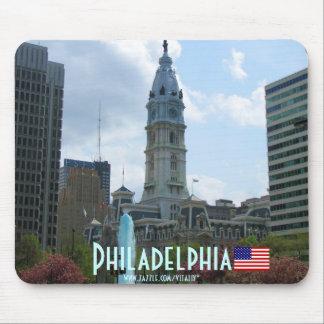Diseño del mousepad de la fotografía de Philadelph