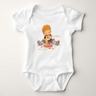 Diseño del muchacho de Psghettiface - bebé Playeras