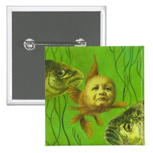 Diseño del mutante del bebé del Goldfish Pin