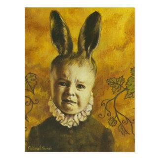 Diseño del mutante del conejito del bebé postales