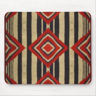 Diseño del nativo americano mouse pad