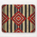Diseño del nativo americano tapete de raton