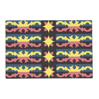 Diseño del nativo americano tapete individual