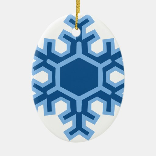 Diseño del navidad del copo de nieve ornamento para arbol de navidad