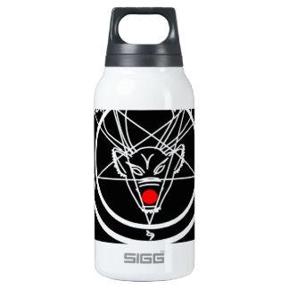 Diseño del navidad del Pentagram de Santanist Botella Isotérmica De Agua