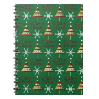 Diseño del navidad libro de apuntes