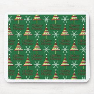 Diseño del navidad tapete de ratón