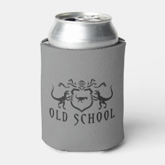 Diseño del negro de la escuela vieja enfriador de latas