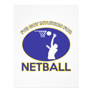 diseño del netball membrete