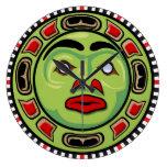 Diseño del noroeste del reloj de la máscara del na