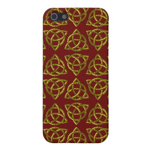 Diseño del nudo de Scandi del Celtic tri iPhone 5 Funda