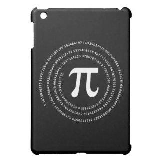 Diseño del número del pi iPad mini cárcasas