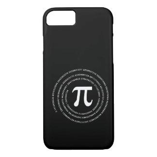 Diseño del número del pi funda iPhone 7