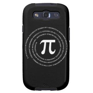 Diseño del número del pi galaxy SIII protectores