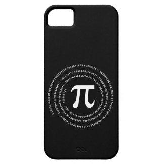 Diseño del número del pi iPhone 5 funda