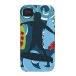 Diseño del océano de la playa del tipo fresco de l iPhone 4 carcasas