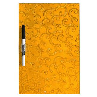 Diseño del oro del vintage pizarras blancas