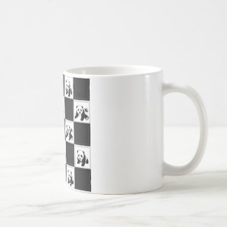 Diseño del oso de panda taza
