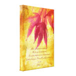 Diseño del otoño, 1:9 de Joshua, poster de la pare Impresión En Lienzo Estirada