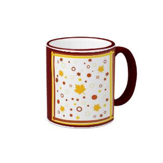 Diseño del otoño - taza