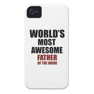 Diseño del padre de la novia iPhone 4 Case-Mate cárcasa