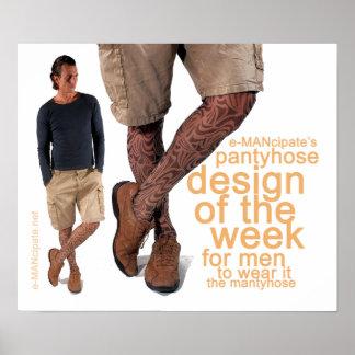 Diseño del panty de la semana I. Póster