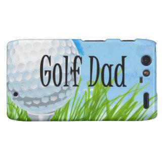 Diseño del PAPÁ del golf Droid RAZR Fundas