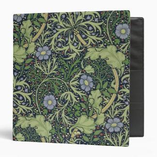 "Diseño del papel pintado de la alga marina, carpeta 1 1/2"""