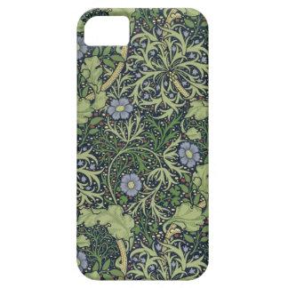 Diseño del papel pintado de la alga marina, funda para iPhone 5 barely there