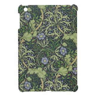 Diseño del papel pintado de la alga marina, impres