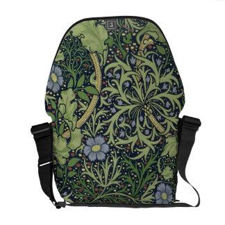 Diseño del papel pintado de la alga marina, impres bolsa de mensajeria