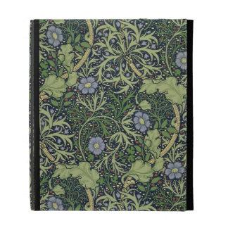 Diseño del papel pintado de la alga marina impres