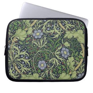 Diseño del papel pintado de la alga marina, impres fundas computadoras